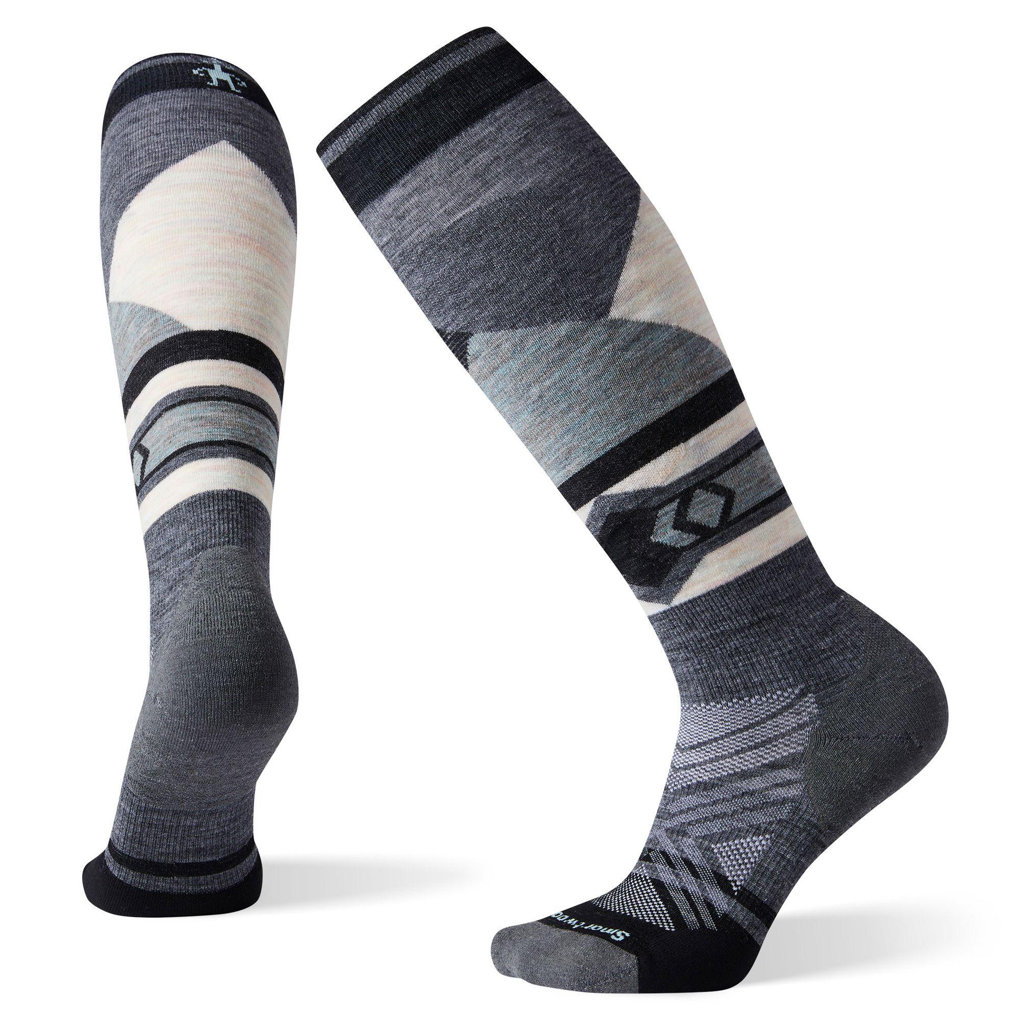 Women's Ski Targeted Cushion Pattern OTC Socks