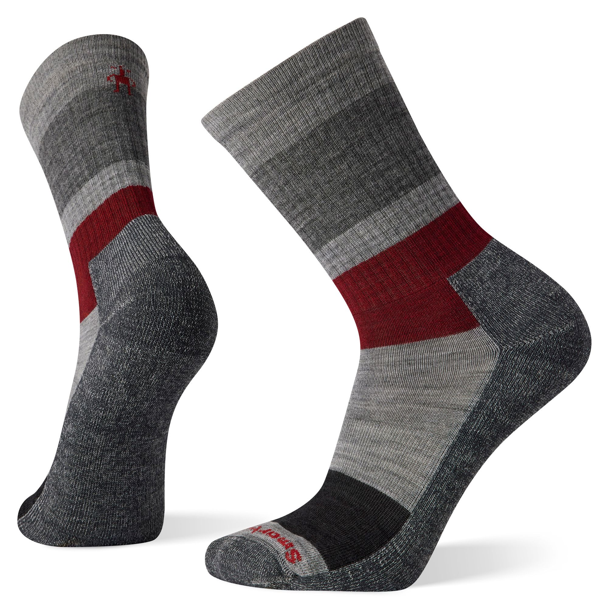 Everyday Blocked Stripe Crew Socks