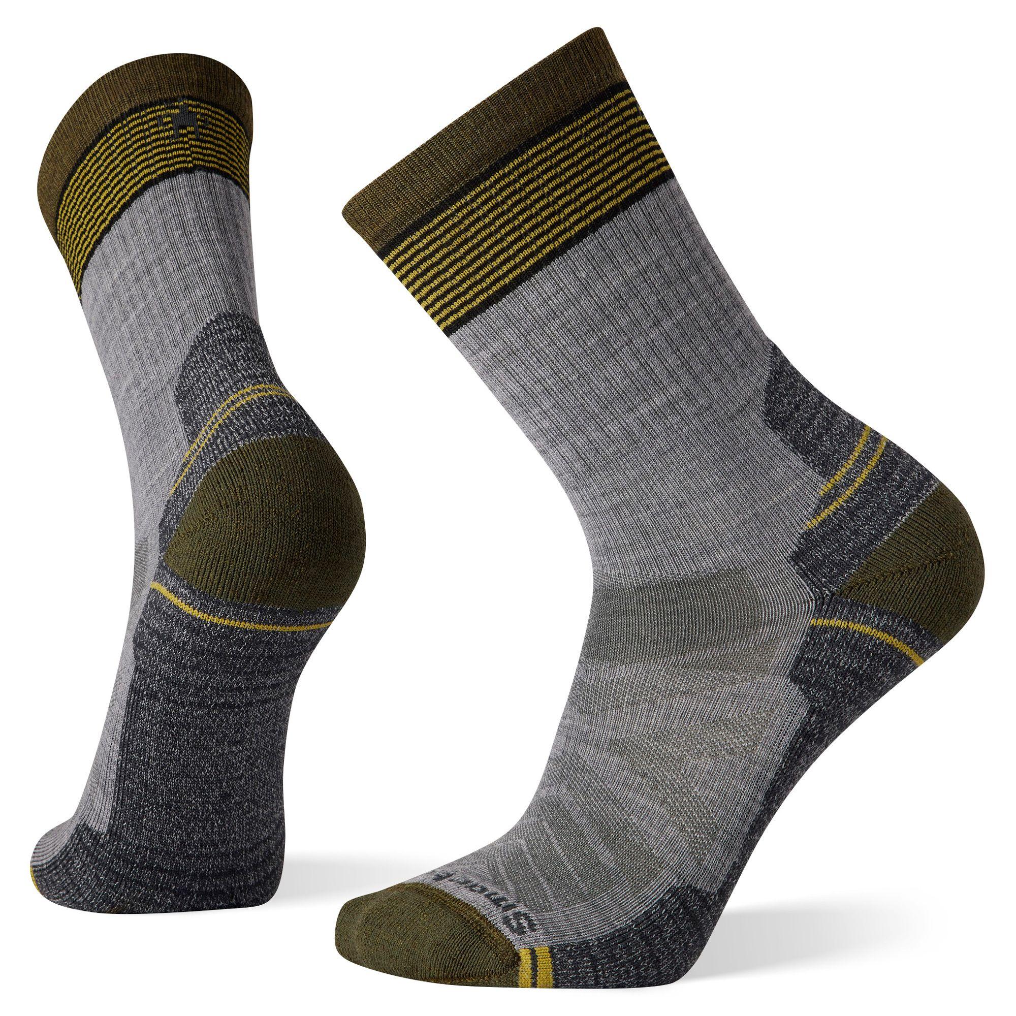 Hike Light Cushion Micro Stripe Crew Socks