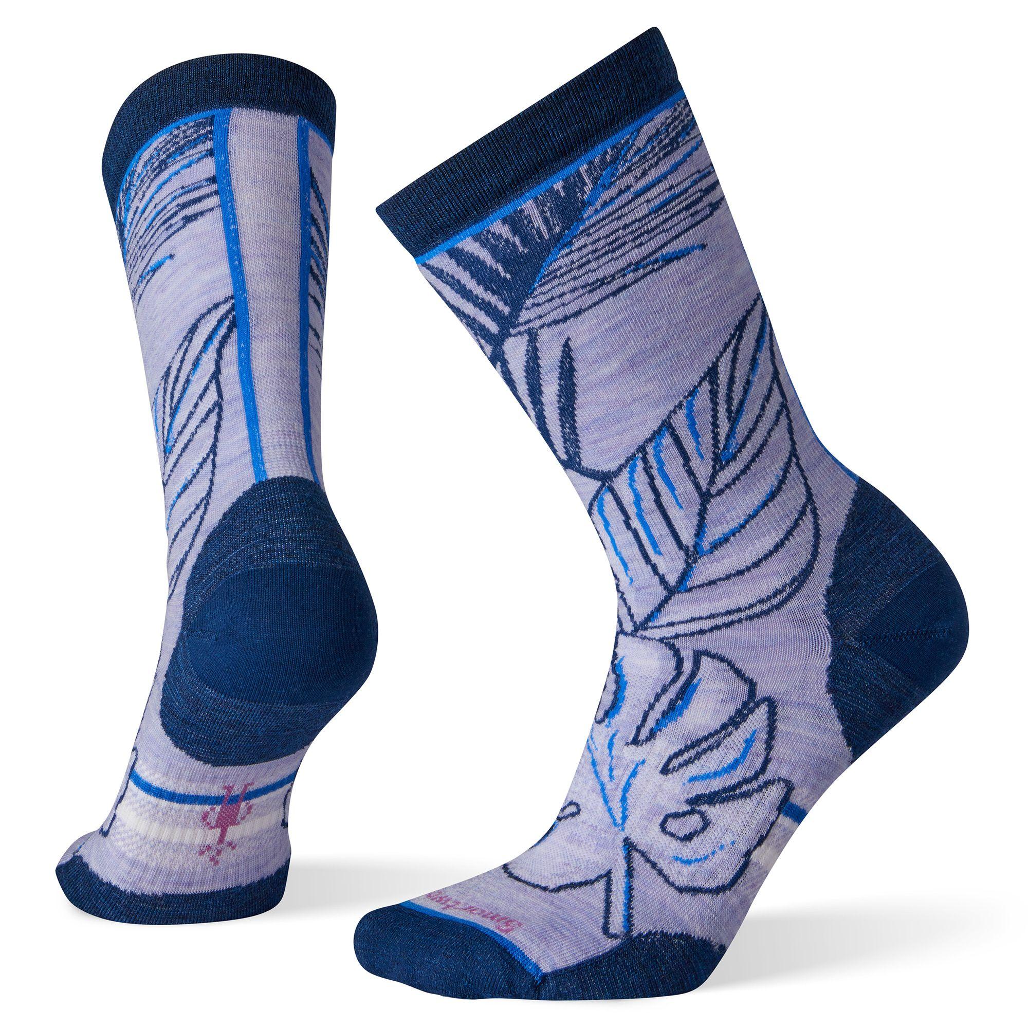 Women's Paradise Leaf Crew Socks