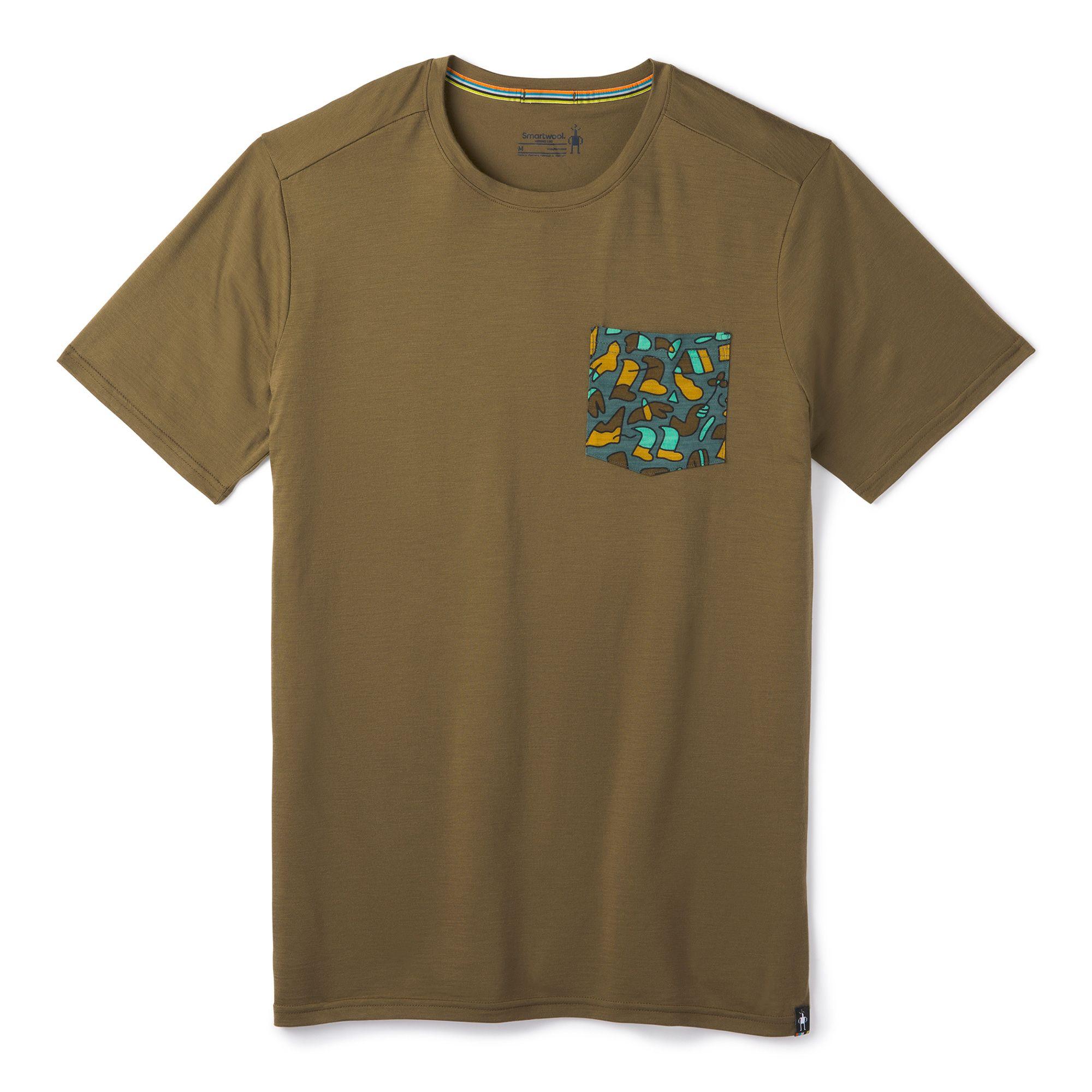 T-shirt à poche Merino 150 pour homme