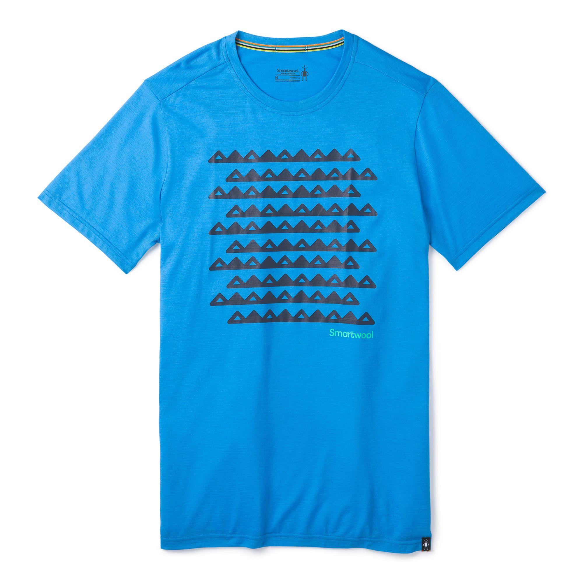 T-shirt Merino Sport 150 Sawtooth Range pour hommes