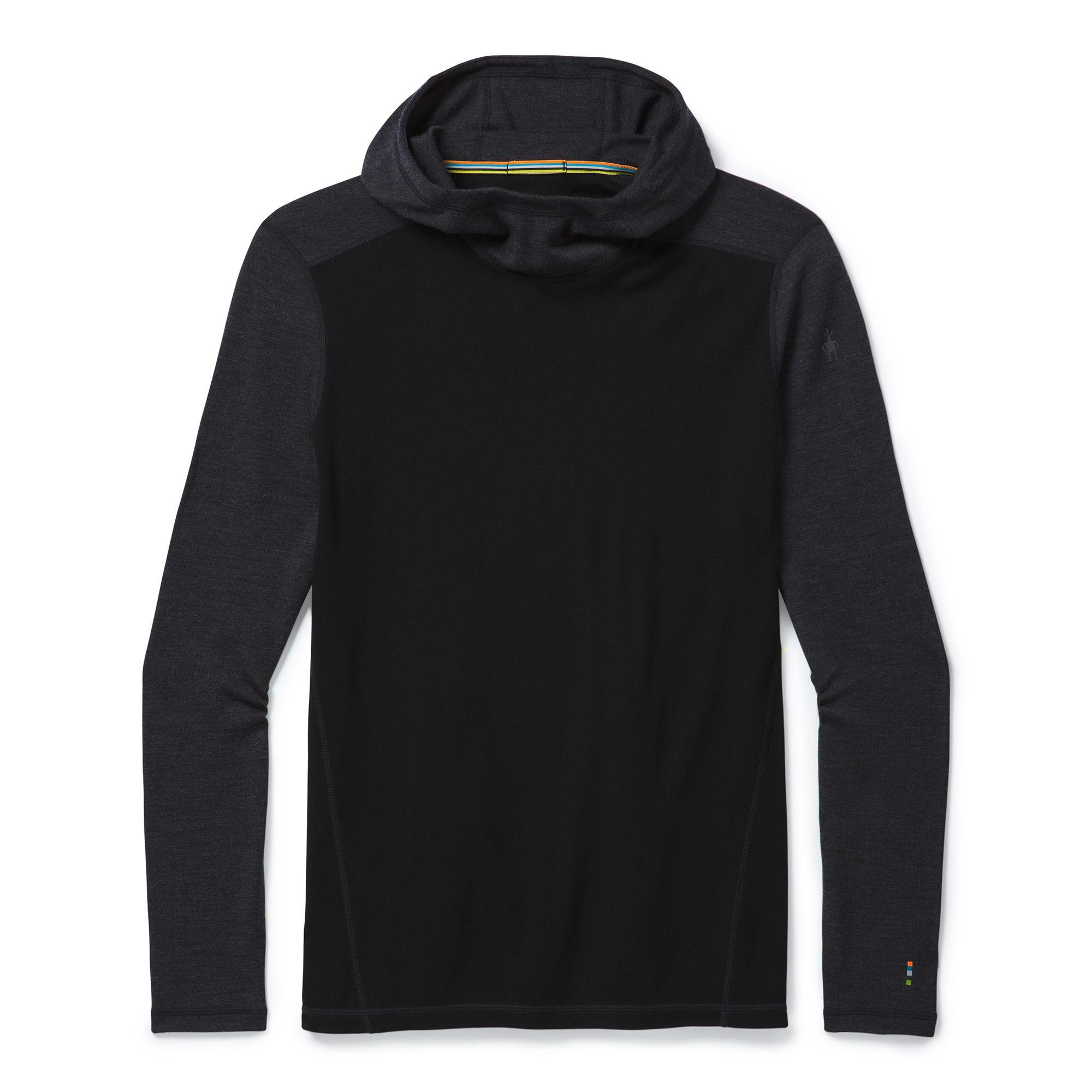 Vêtement de base à capuchon Merino250 pour hommes