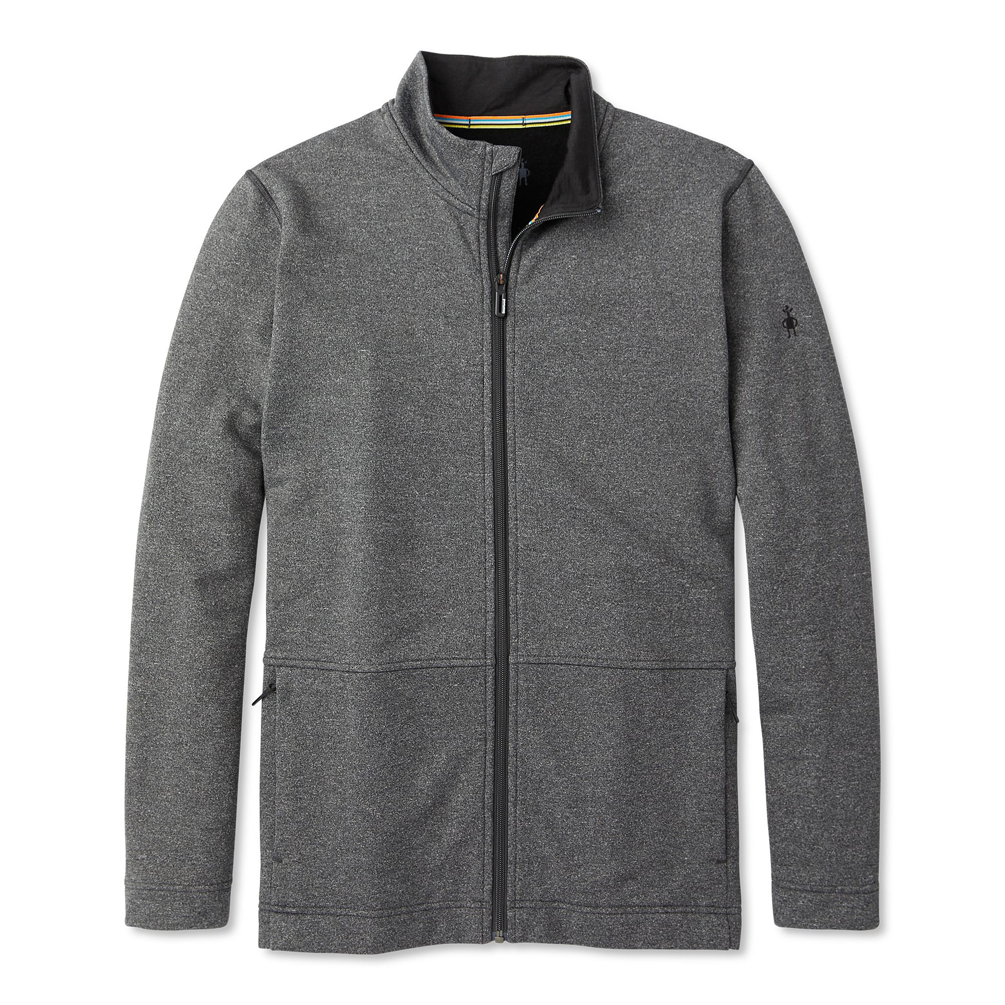 Manteau à glissière Merino Sport en molleton pour hommes