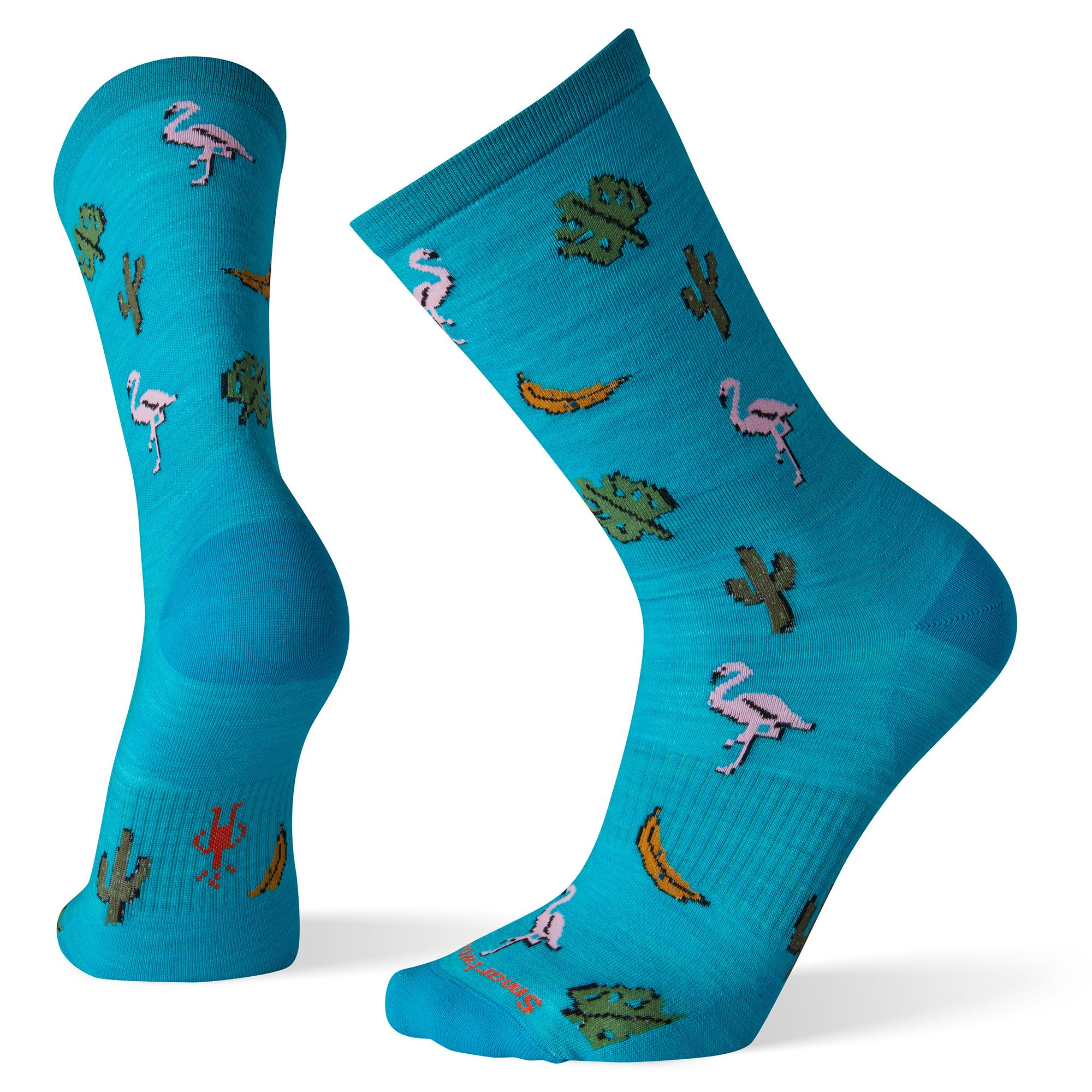 Men's Fantastic Flamingos Crew Socks