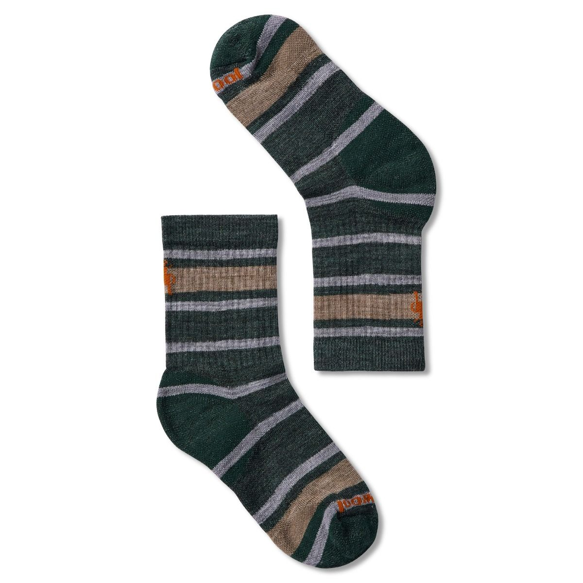 Kids' Hike Light Striped Crew Socks