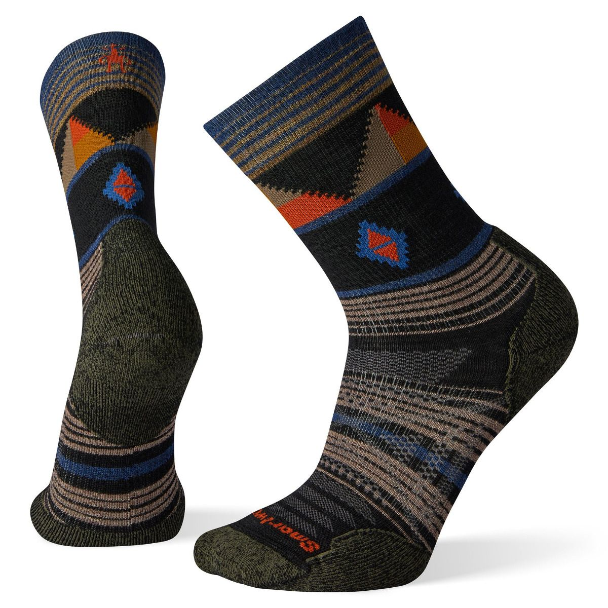 PhD® Outdoor Light Pattern Crew Socks