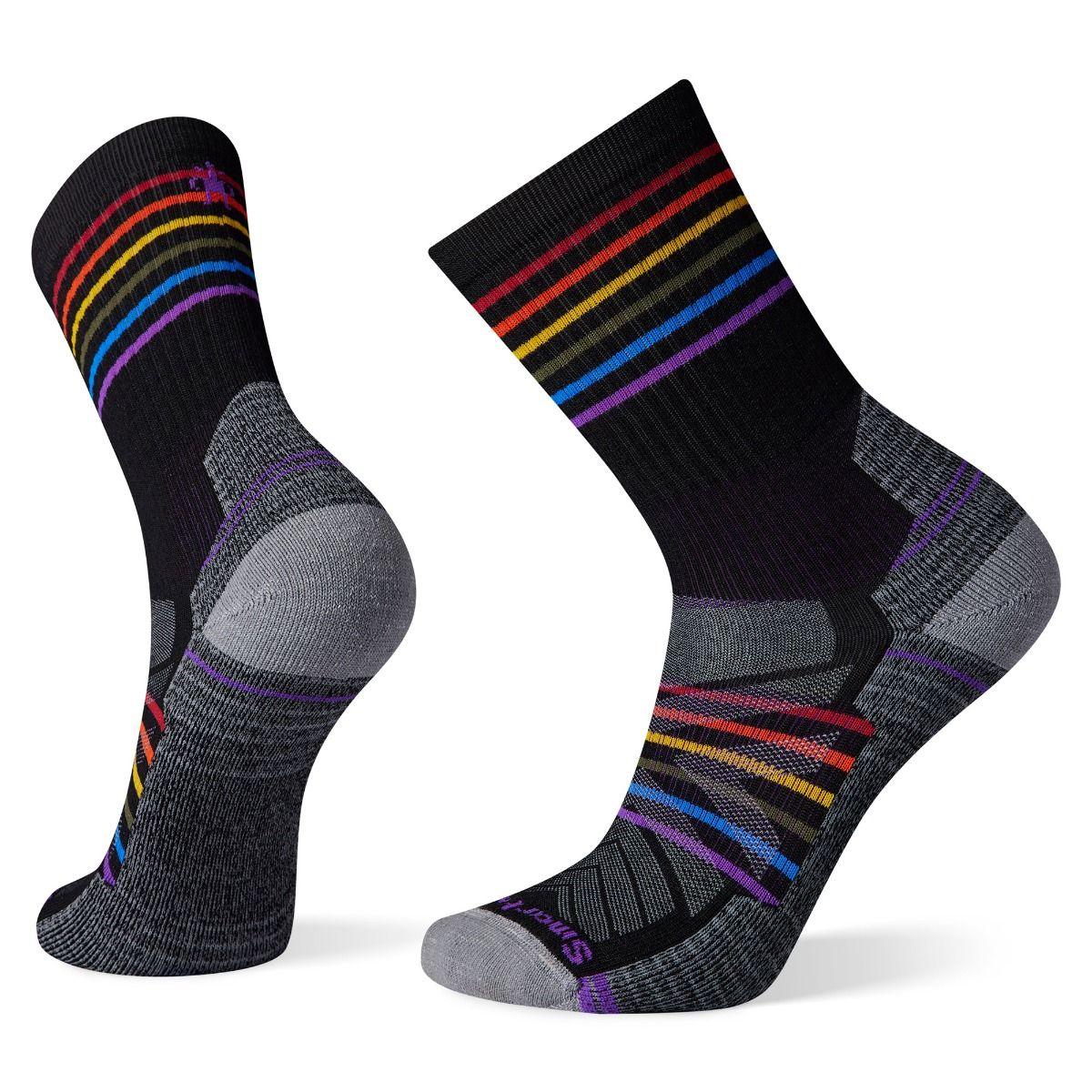 Hike Light Cushion Pride Pattern Crew Socks