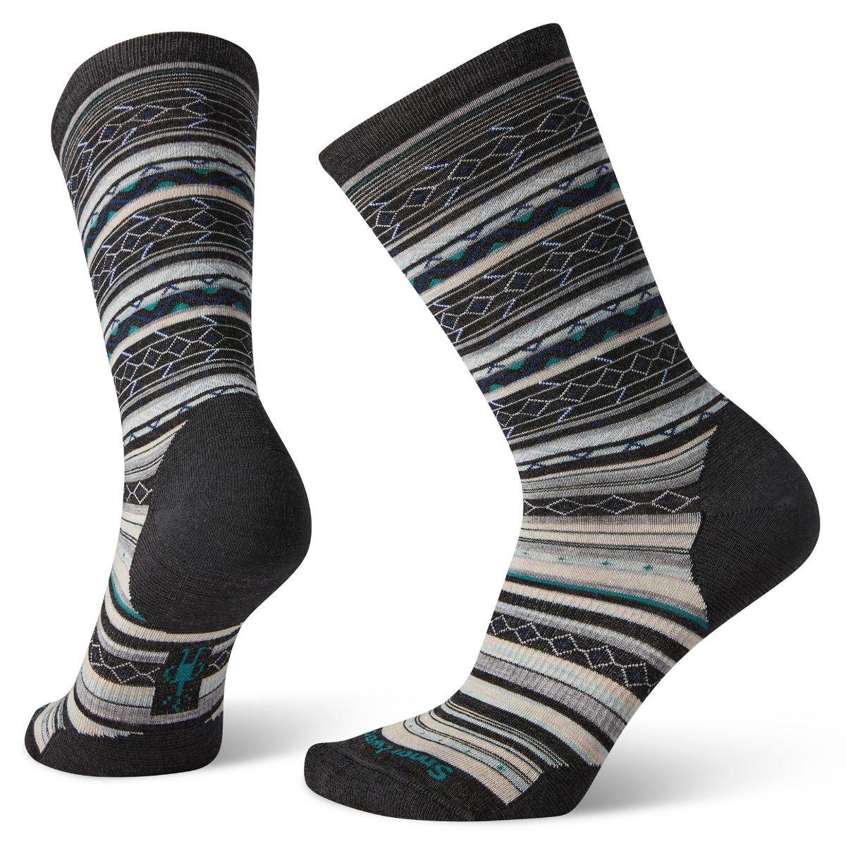 Women's Ethno Graphic Crew Socks