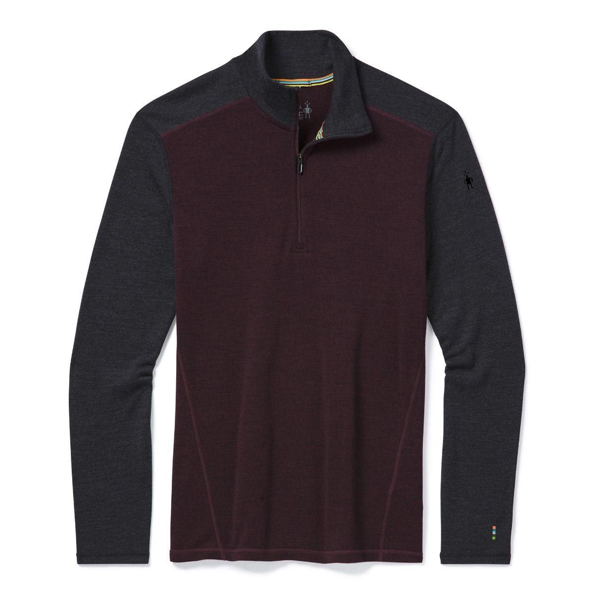 Vêtement de base à demi-glissière Merino250 pour hommes