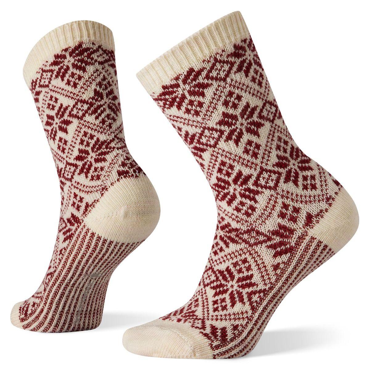 Traditional Snowflake Socks