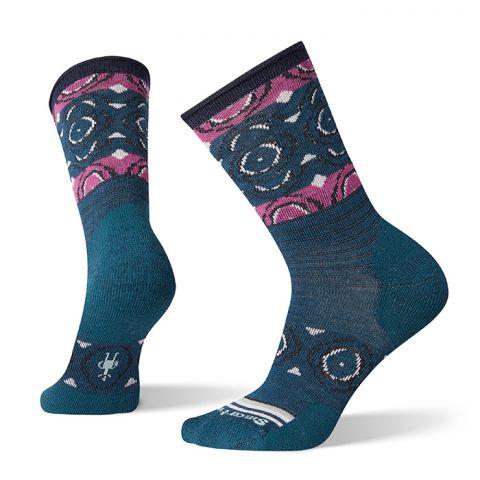 Women's Non-Binding Pressure Free Dot Crew Socks