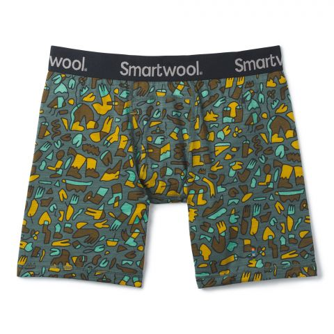 Men's Merino 150 Print Boxer Brief Boxed