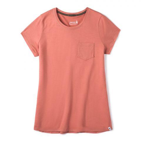 T-shirt à poche Merino Sport 150 pour femmes