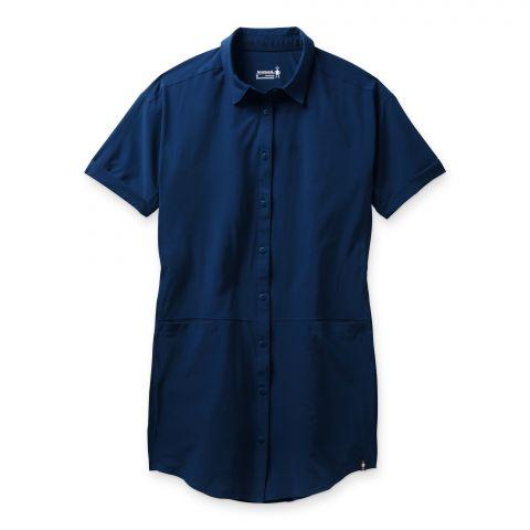 Women's Merino Sport Shirt Dress