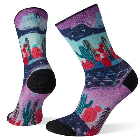 Women's PhD® Outdoor Light Print Crew Socks