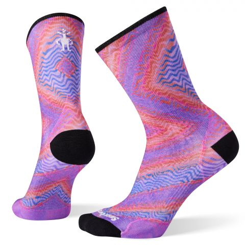 Women's PhD® Run Ultra Light Print Crew Socks