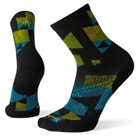 PhD® Run Light Elite Print Crew Socks