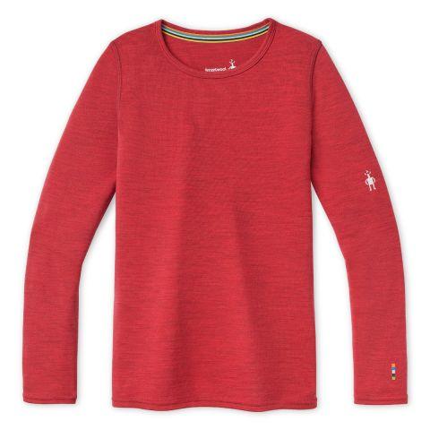 Vêtement de base à encolure ronde Merino250 pour enfants