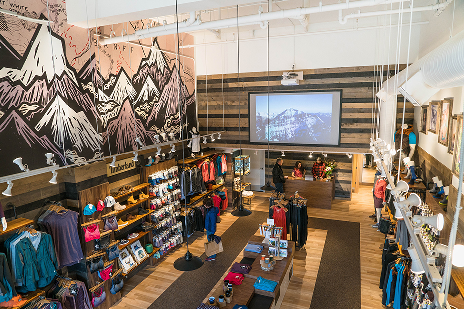 Smartwool Banff Store front