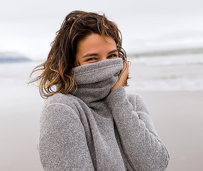Recycle fleece sweater Smartwool