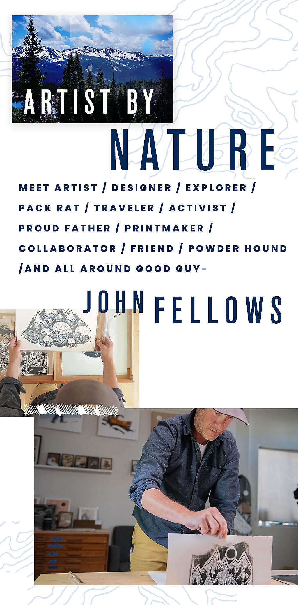 John Fellows collage mobile