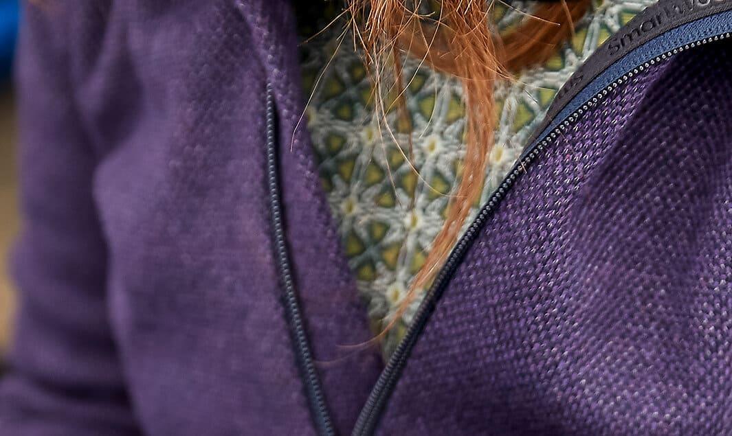 Smartwool manteau laine recyclée